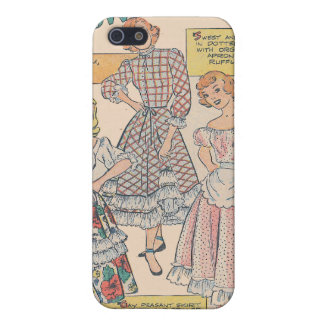 Dotted Swiss and Ruffles iPhone 5 Case