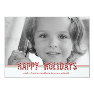 Dotted Wishes Christmas Cards/ Holiday Photo Cards
