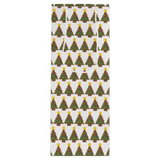 dotty christmas tree gift bag tall