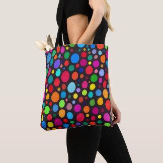 Dotty Hand-Drawn Pattern Tote Bag