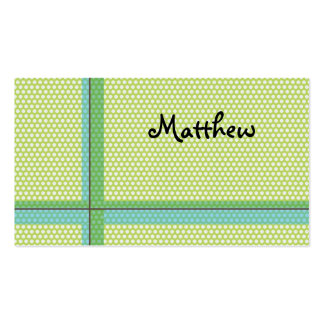 Dotty kids/parents calling/profile card business card template