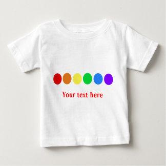 Dotty rainbow - customize shirts