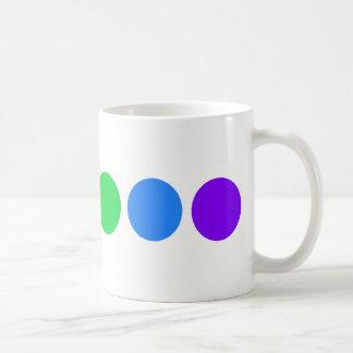 Dotty rainbow - English tea mug