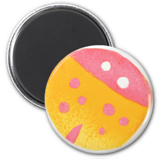 Dotty Red-Bug Magnet