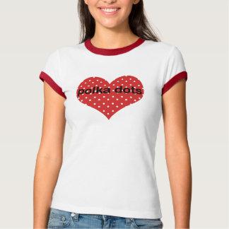 Dotty Ringer T-Shirt