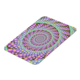 Dotty Spiral  Photo Magnet