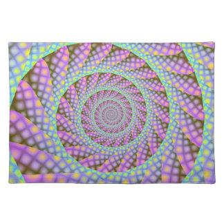 Dotty Spiral Placemats