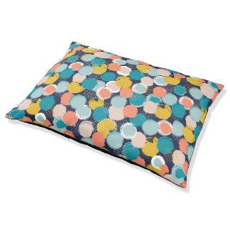 Dotty Spot Pattern Dog Bed