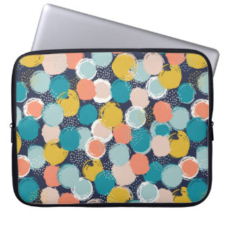 Dotty Spot Pattern Laptop Sleeve