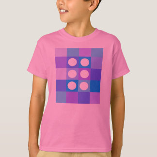 Dotty squares and circles T-Shirt