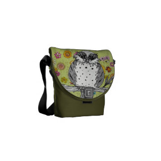 Dotty the Owl 5 Messenger Bag