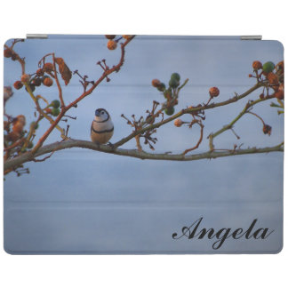 Doubble-barred finch IPad cover