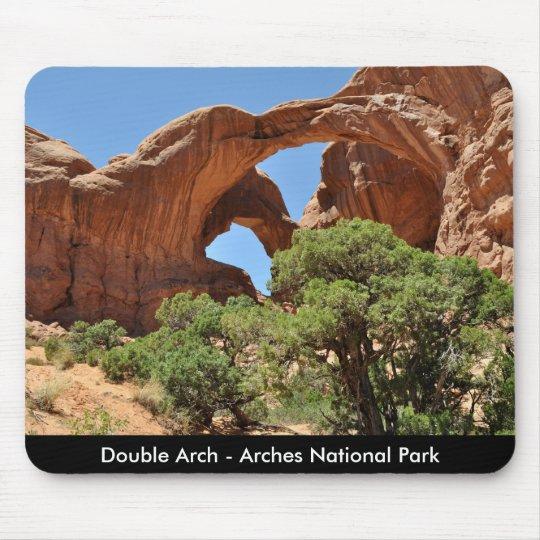Double Arch - Arches National Park Mouse Mat