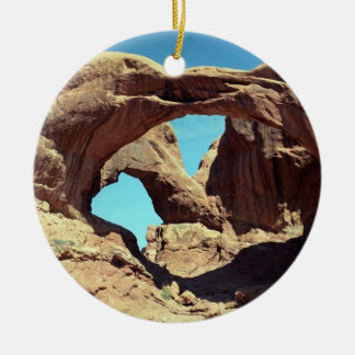 Double Arch Christmas Ornament