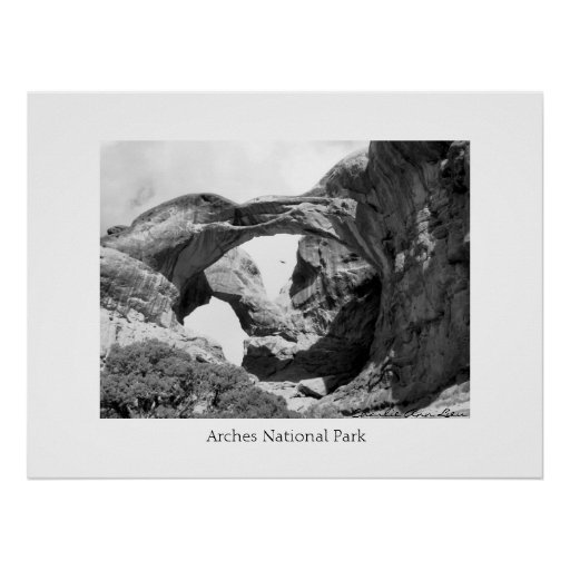 Double Arch Posters