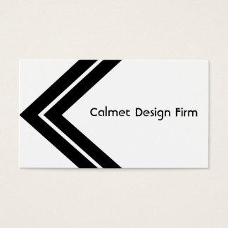 Double Arrow Design Business Card