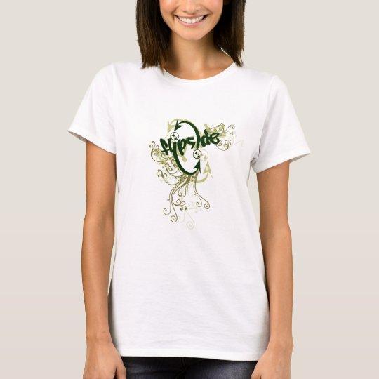 Double Arrow Green Swirl T-Shirt
