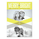Double Arrows Merry & Bright Holiday Photo Card