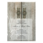 Double Barn Doors Country Junior / Senior Prom Announcements
