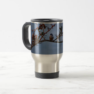 Double-barred finch mug