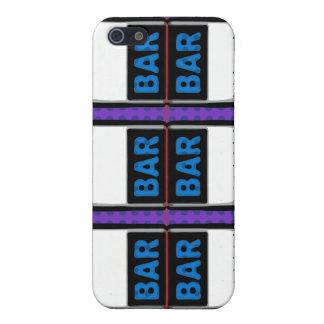 Double Bars Slot Machine Reels iPhone 5 Cases