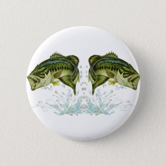Double Bass 6 Cm Round Badge