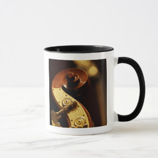 Double bass headstock 2 mug