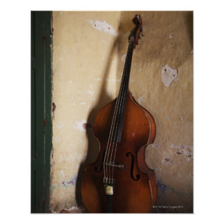 Double Bass Poster
