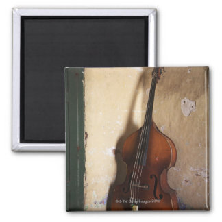 Double Bass Square Magnet