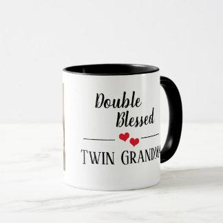 Double Blessed - Twin Grandma mug
