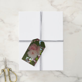 Double Blossoming Cherry Tree I Spring Floral Gift Tags