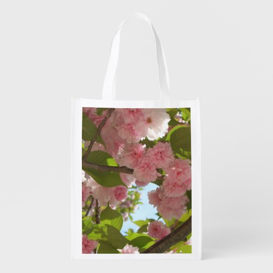 Double Blossoming Cherry Tree III Spring Floral Reusable