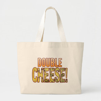 Double Blue Cheese Large Tote Bag