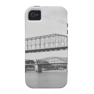 Double Bridge Black and White Photography Case For The iPhone 4