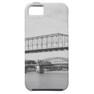 Double Bridge Black and White Photography iPhone 5 Cover