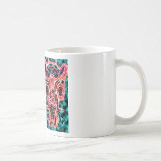 Double Bull  - Red Energy Party Animal V2 Coffee Mug