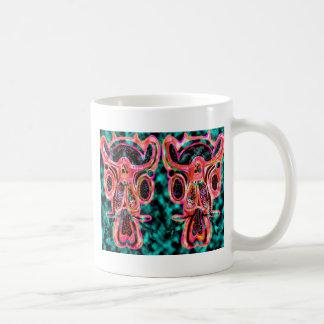 Double Bull  - Red Energy Party Animal V2 Mug