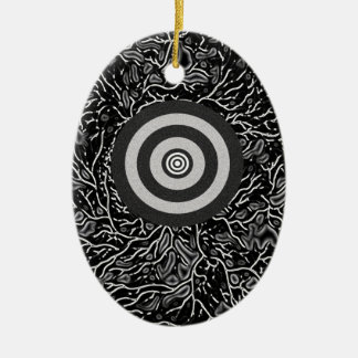 Double Bull's Eye Christmas Ornament