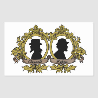 Double Cameo Stickers