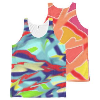 Double Chaos into Form Design Unisex Tank Top