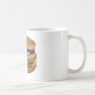 Double Cheese Burger Delite Mugs
