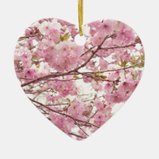Double cherry blossoms in Japan Christmas Ornament