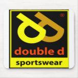 Double D Sportswear Logo Mouse Pad