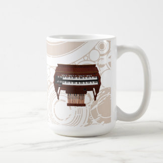 Double Decker Organ: 3D Model: Coffee Mug