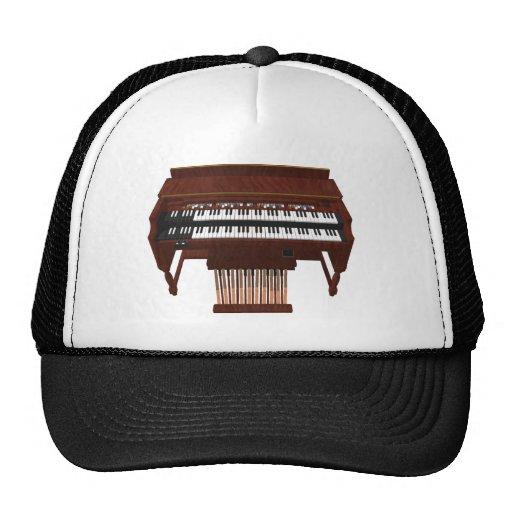 Double Decker Organ: 3D Model: Hats