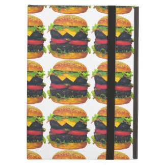 Double Deluxe Hamburger with Cheese iPad Air Cases