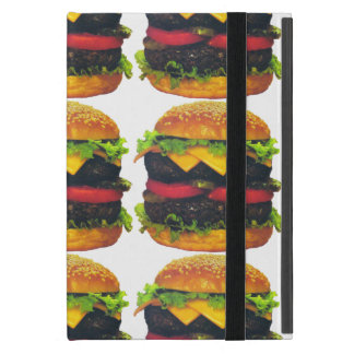 Double Deluxe Hamburger with Cheese iPad Mini Covers