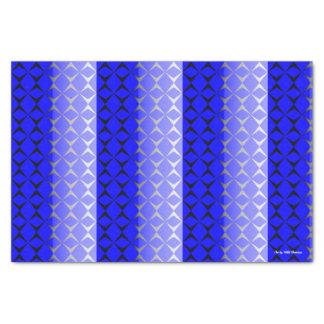 Double Diamond Tissue Paper (Blue & Black)