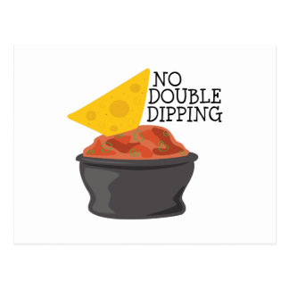 Double Dipping Postcard