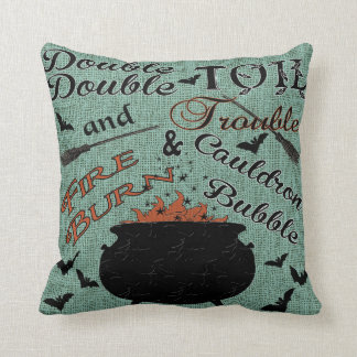 Double,Double Toil and Trouble Cushion